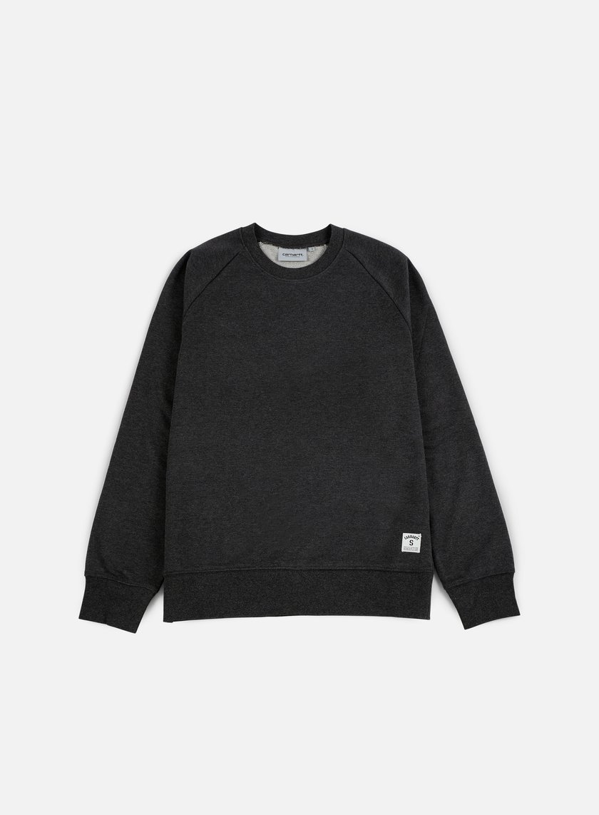 Carhartt - Holbrook LT Crewneck, Black Heather