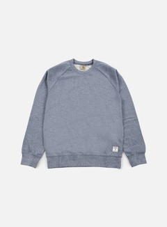 Carhartt - Holbrook LT Crewneck, Blue Noise Heather