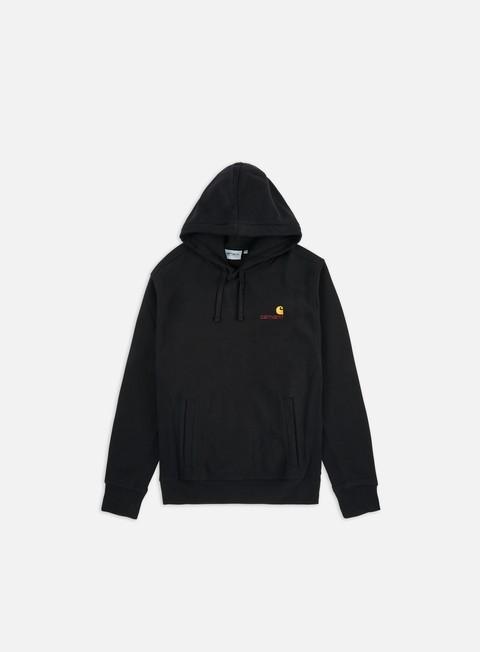 Logo Sweatshirts Carhartt Hooded American Script Sweatshirt