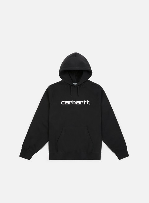 felpe carhartt hooded carhartt sweatshirt black white