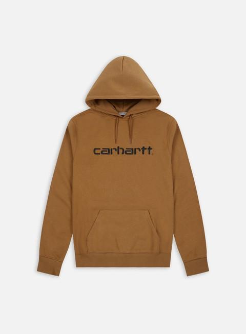 felpe carhartt hooded carhartt sweatshirt hamilton brown black