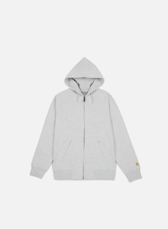 Carhartt - Hooded Chase Jacket, Ash Heather/Gold