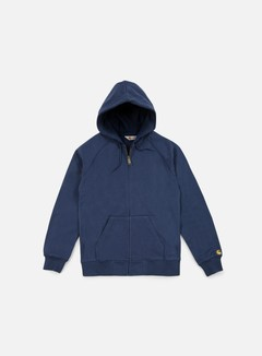 Carhartt - Hooded Chase Jacket, Blue 1