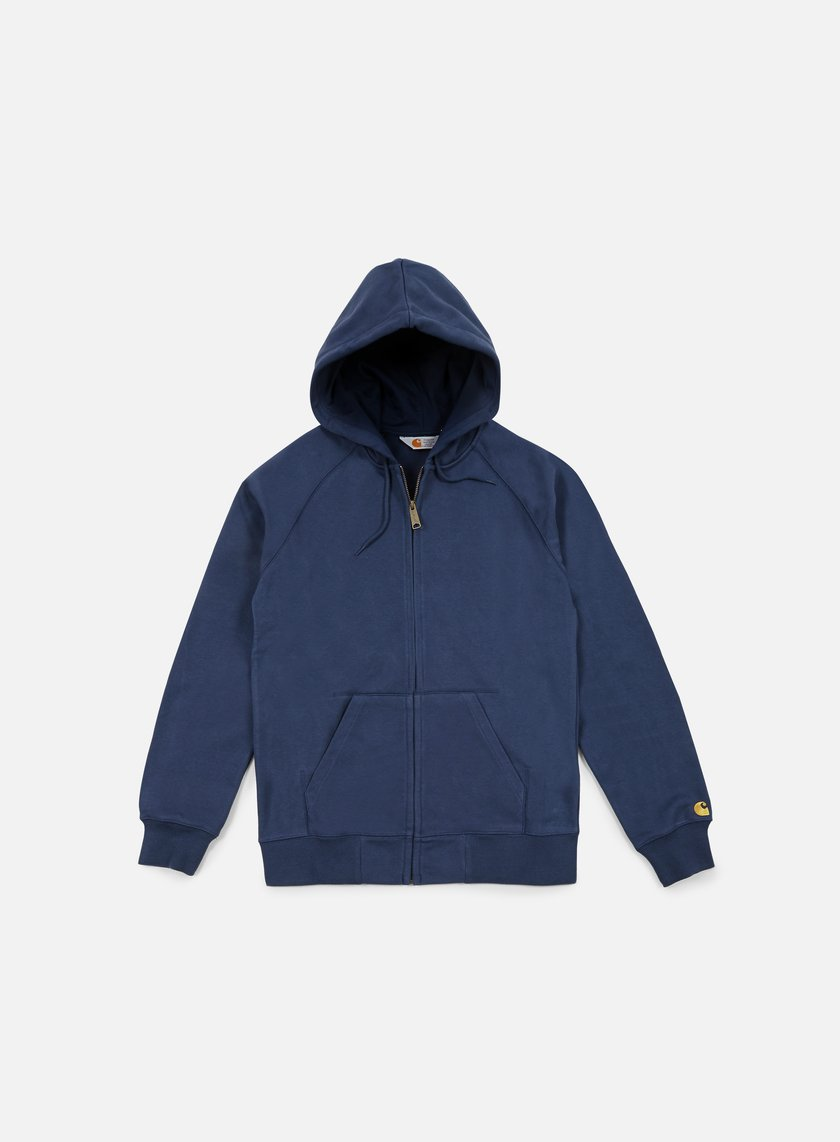 Carhartt - Hooded Chase Jacket, Blue