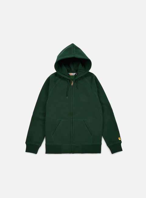 felpe carhartt hooded chase jacket conifer