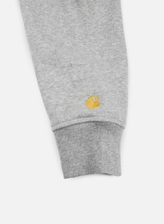 Carhartt - Hooded Chase Jacket, Grey Heather/Gold 2