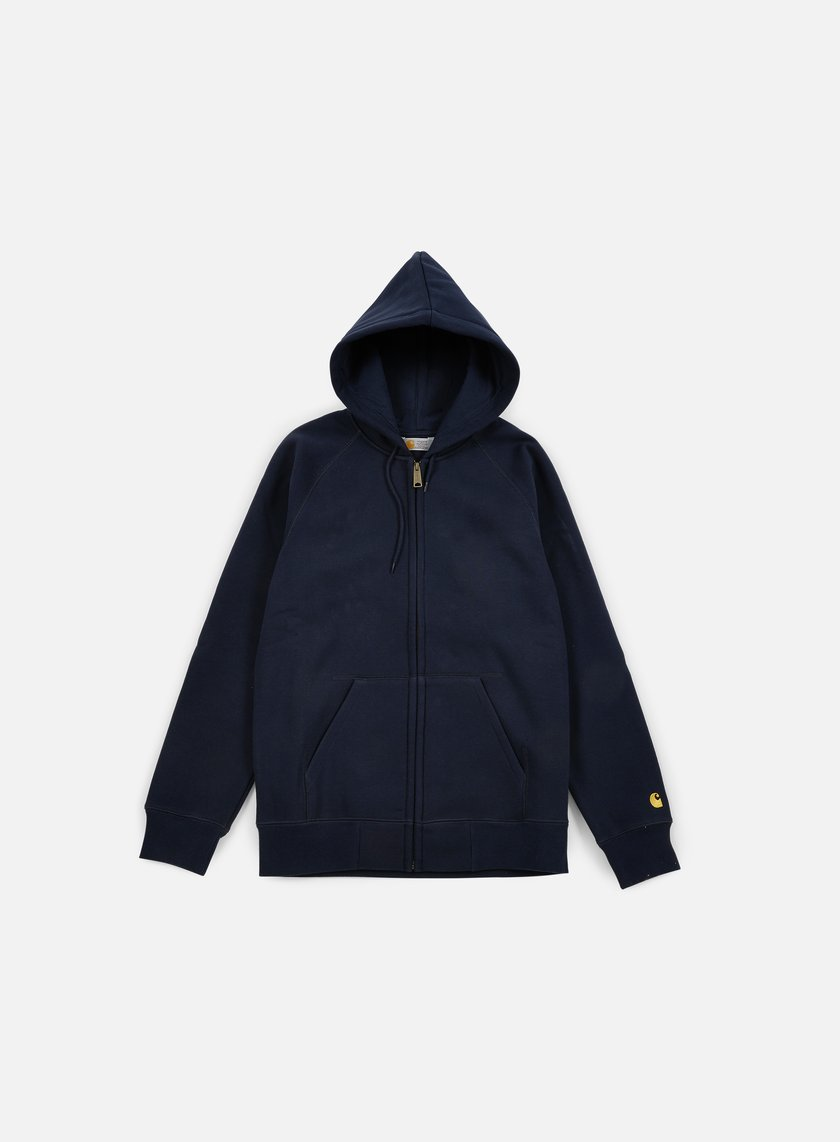 Carhartt - Hooded Chase Jacket, Navy