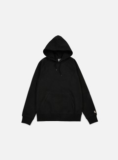 Carhartt - Hooded Chase Sweatshirt, Black 1