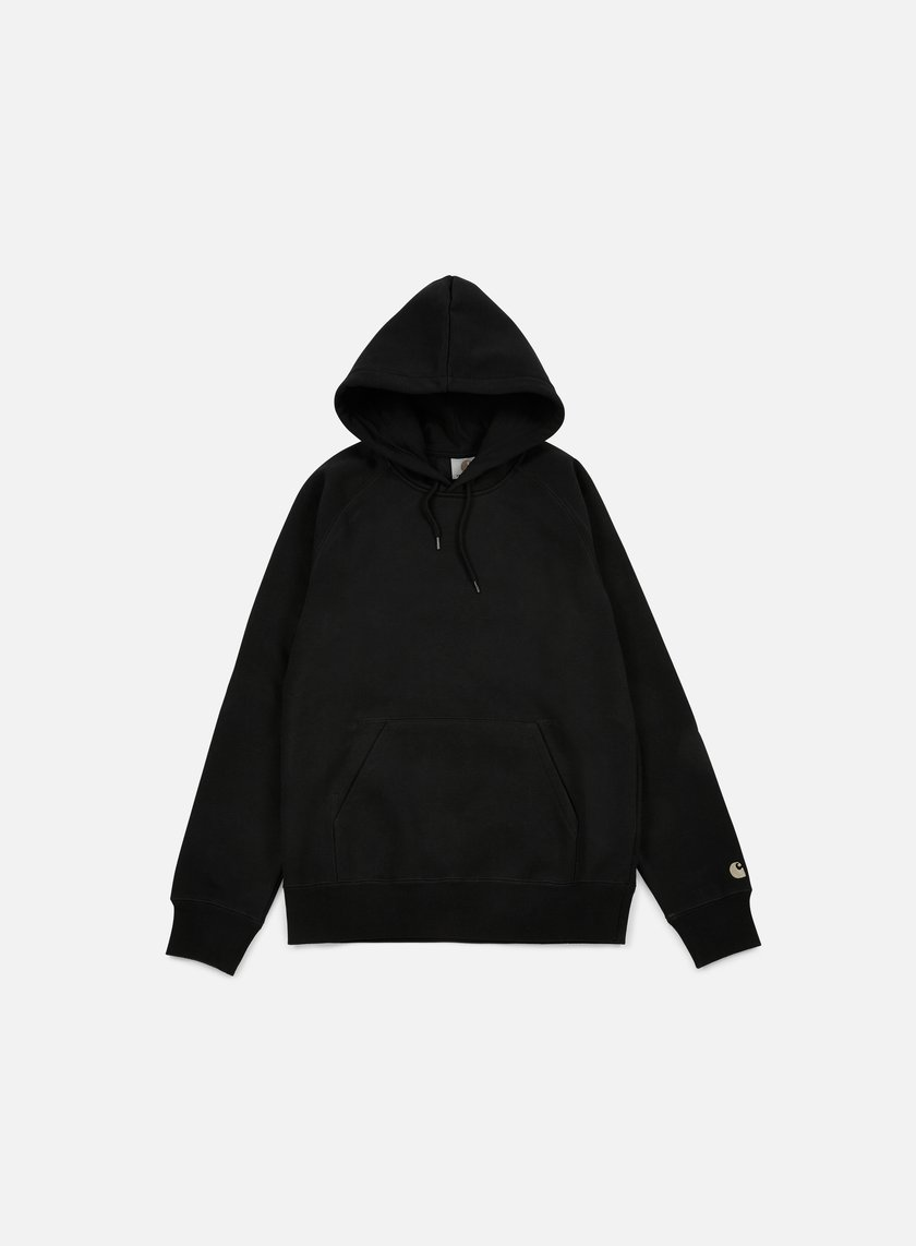 Carhartt - Hooded Chase Sweatshirt, Black