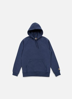 Carhartt - Hooded Chase Sweatshirt, Blue