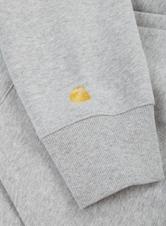 Carhartt - Hooded Chase Sweatshirt, Grey Heater 2