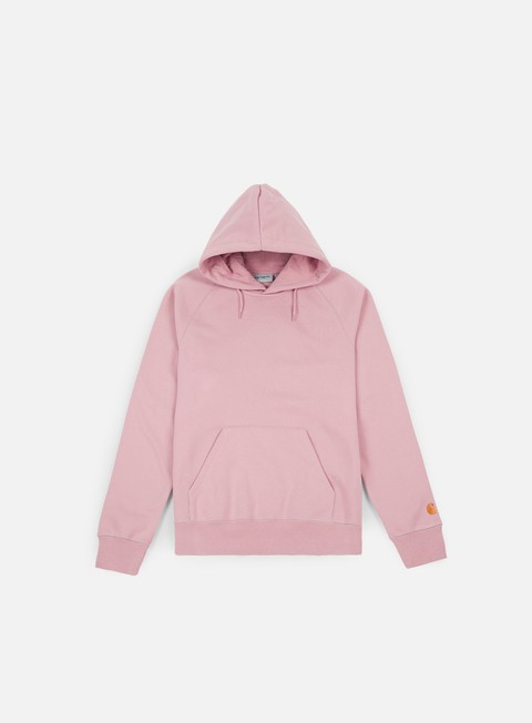 felpe carhartt hooded chase sweatshirt soft rose gold