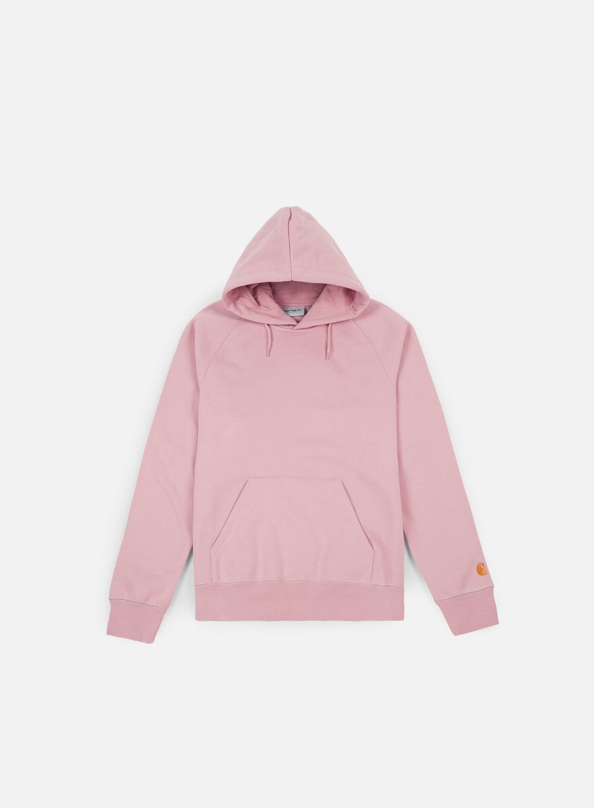 Carhartt - Hooded Chase Sweatshirt, Soft Rose/Gold