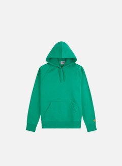 Carhartt - Hooded Chase Sweatshirt, Yoda/Gold