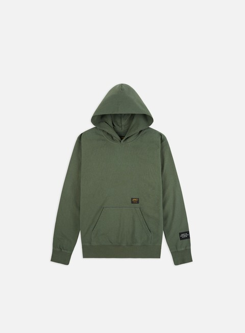 Outlet e Saldi Felpe con Cappuccio Carhartt Hooded Military Tape Hoodie