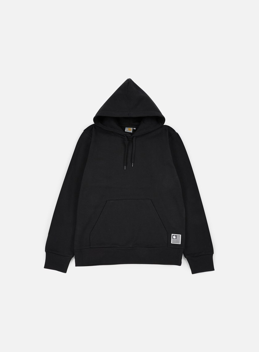 Carhartt - Hooded State Flag Sweatshirt, Black