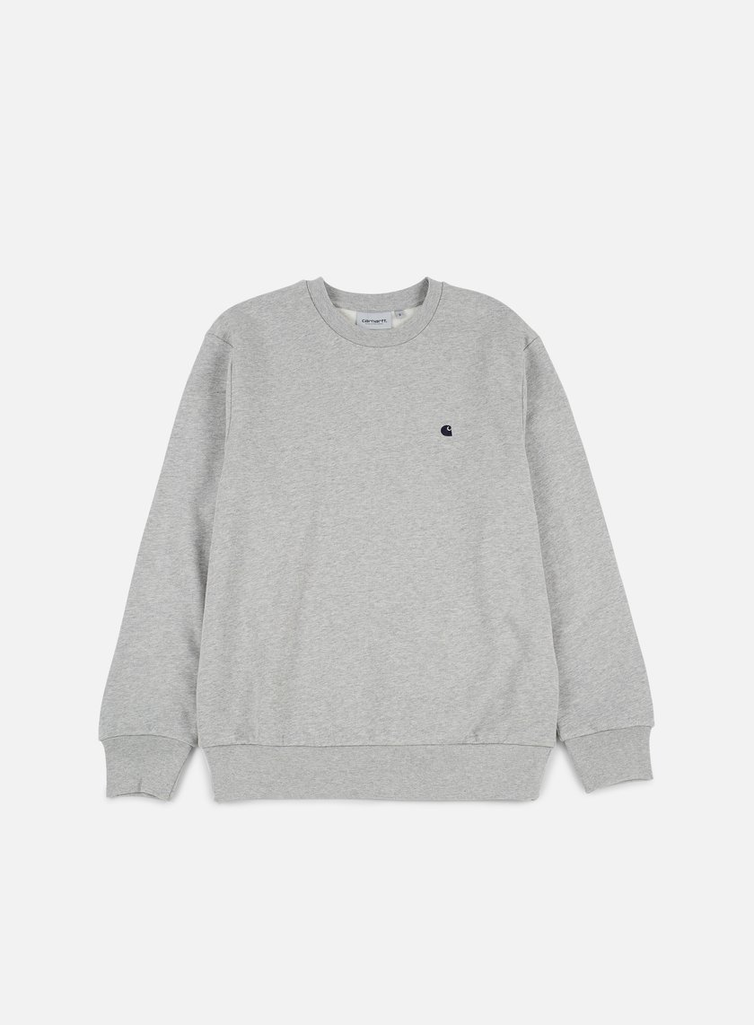 Carhartt - Madison Sweatshirt, Grey Heather/Navy