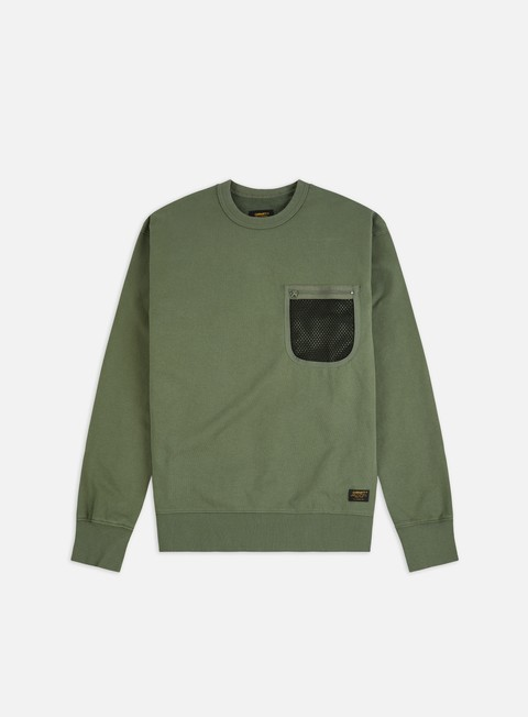 Crewneck Sweatshirts Carhartt Military Mesh Pocket Crewneck