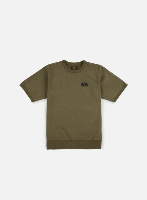 felpe carhartt miltary training ss sweathshirt rover green
