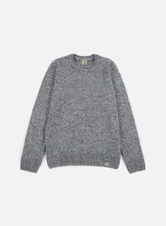 Carhartt - Morris Sweater, Black/Grey Heather