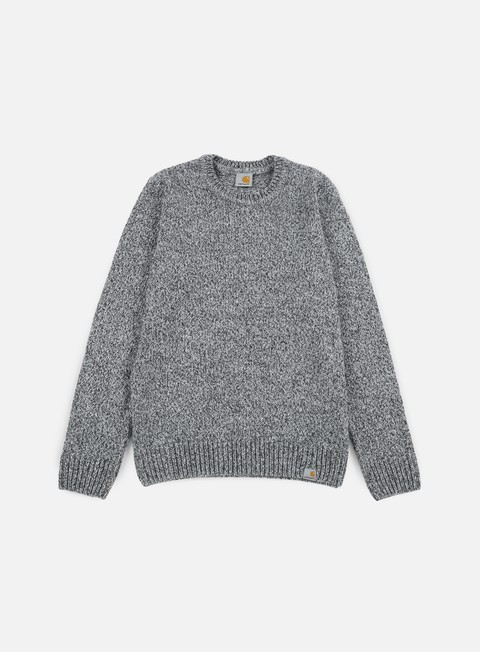 felpe carhartt morris sweater black grey heather