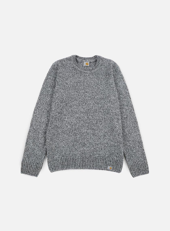 Carhartt - Morris Sweater, Black/Grey Heather