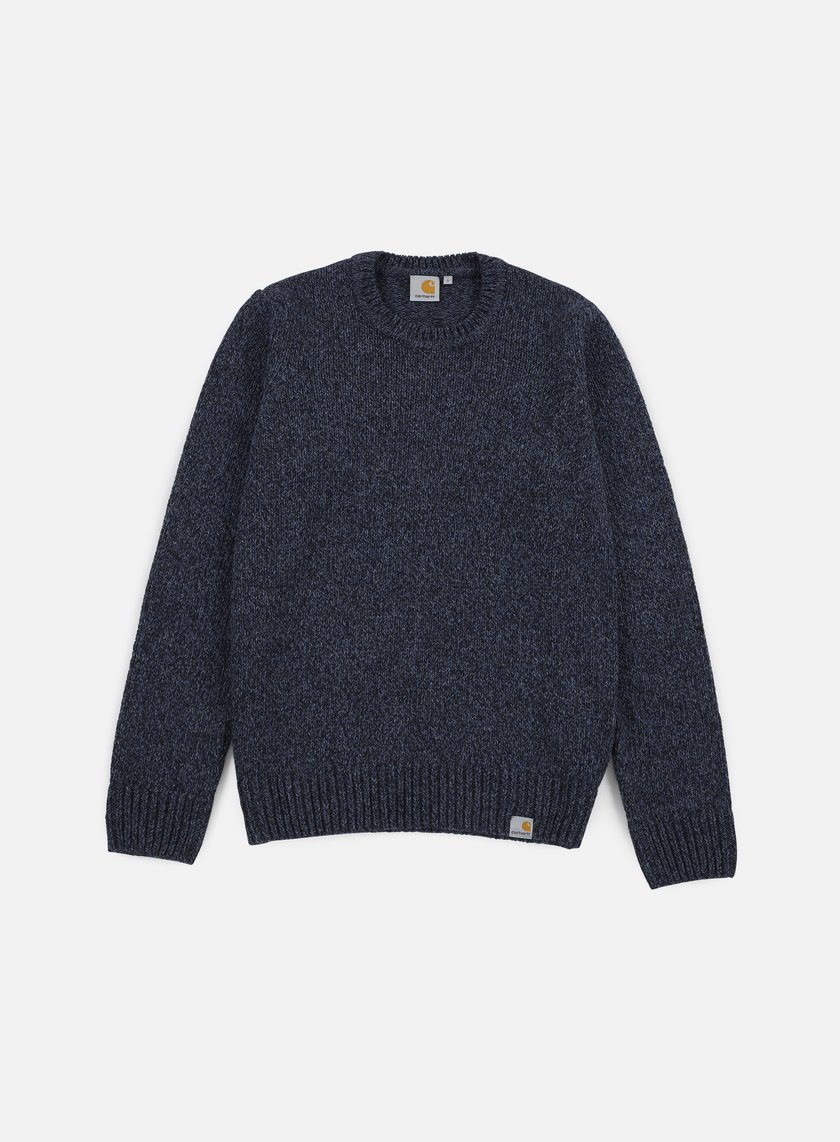 Carhartt - Morris Sweater, Black/Navy Heather