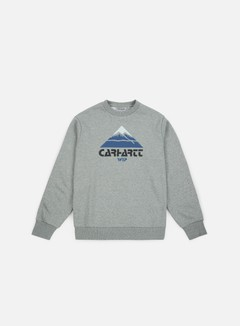Carhartt - Mountain Sweatshirt, Grey Heather