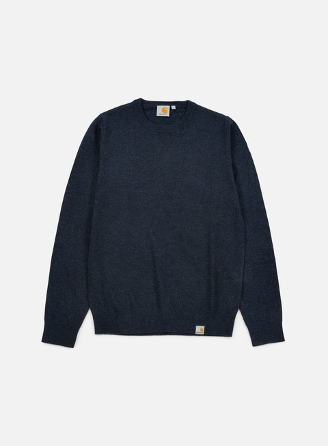 felpe carhartt playoff sweater navy heather