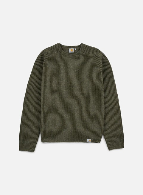 felpe carhartt rib sweater cypress heather