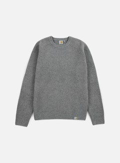 Carhartt - Rib Sweater, Dark Grey Heather 1