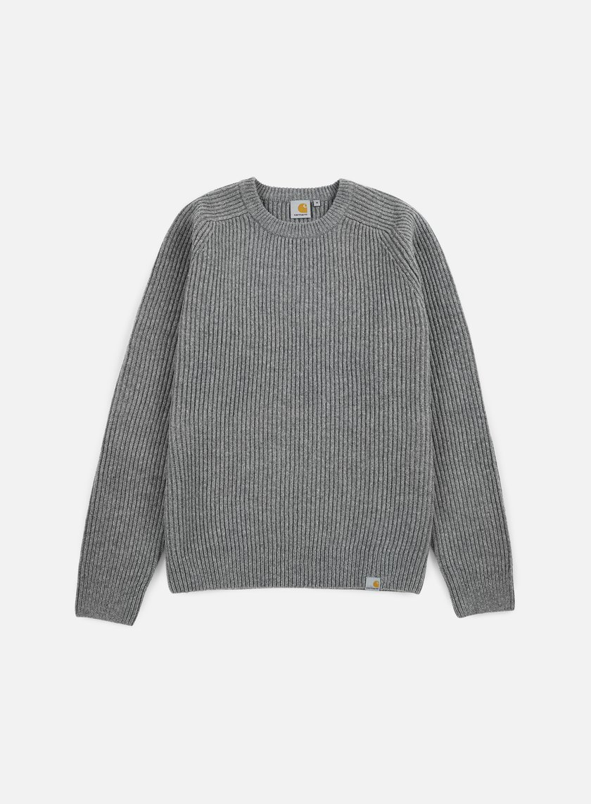 Carhartt - Rib Sweater, Dark Grey Heather
