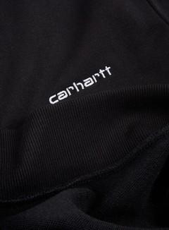 Carhartt - Script Embroidery Sweatshirt, Black/White 2