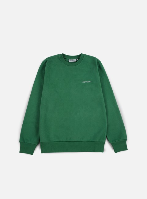 Felpe Girocollo Carhartt Script Embroidery Sweatshirt