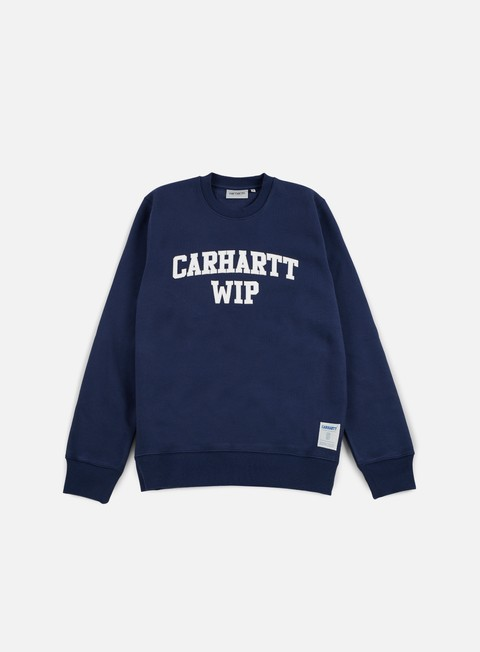 felpe carhartt sporty sweatshirt blue white
