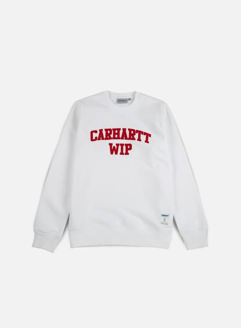 felpe carhartt sporty sweatshirt white chili