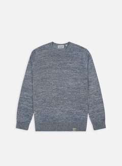 Carhartt - Toss Sweater, Blue/Broken White