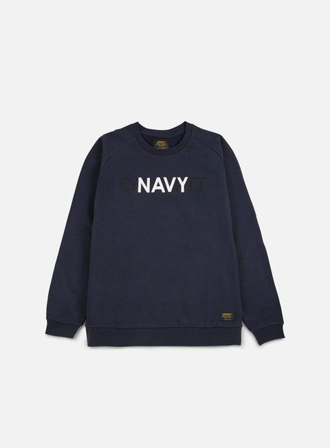 felpe carhartt training sweathshirt navy multicolor