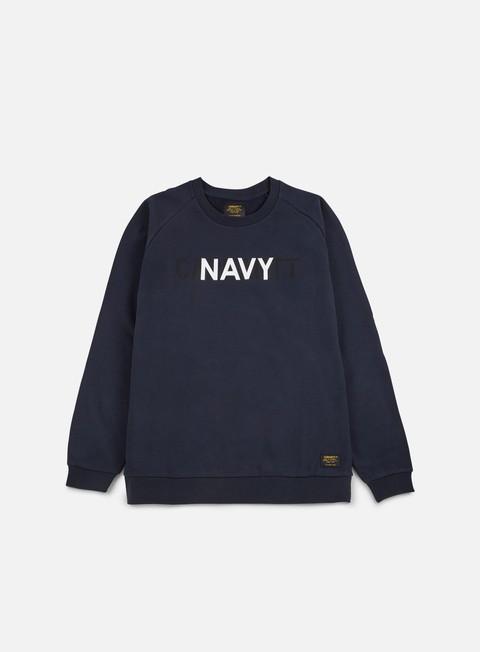 felpe carhartt training sweathshirt navy multicolor
