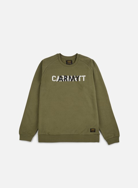 felpe carhartt training sweathshirt rover green multicolor