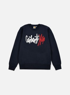 Carhartt - Wavy Sweatshirt, Navy/Multi 1