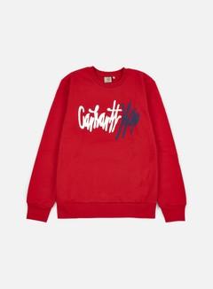 Carhartt - Wavy Sweatshirt, Rosehip/Multi 1