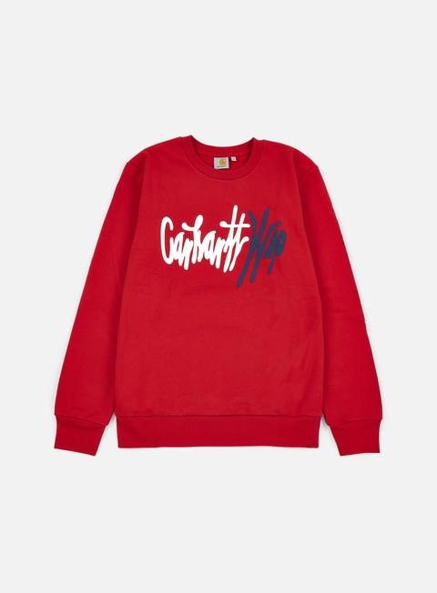 felpe carhartt wavy sweatshirt rosehip multi