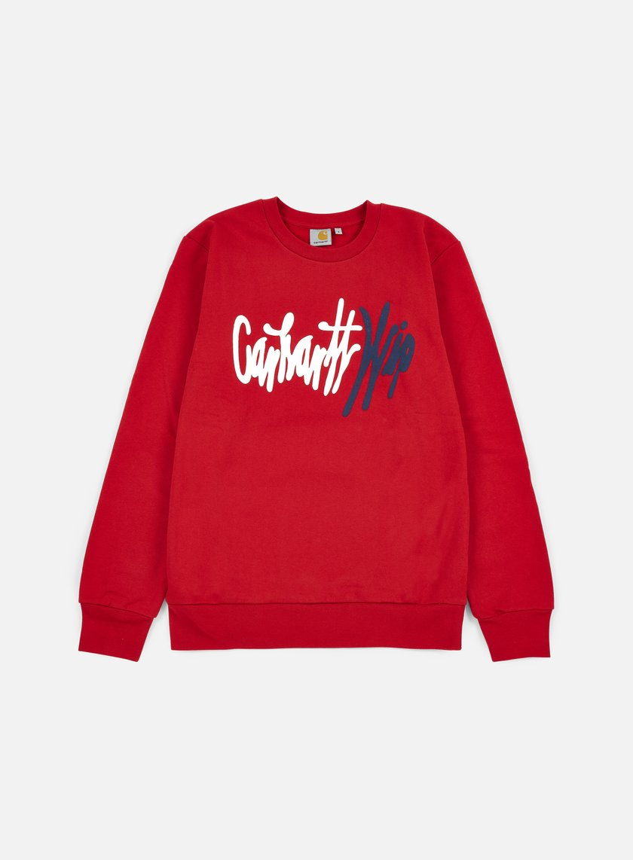 Carhartt - Wavy Sweatshirt, Rosehip/Multi