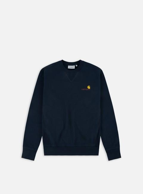 Crewneck Carhartt WIP American Script Sweatshirt