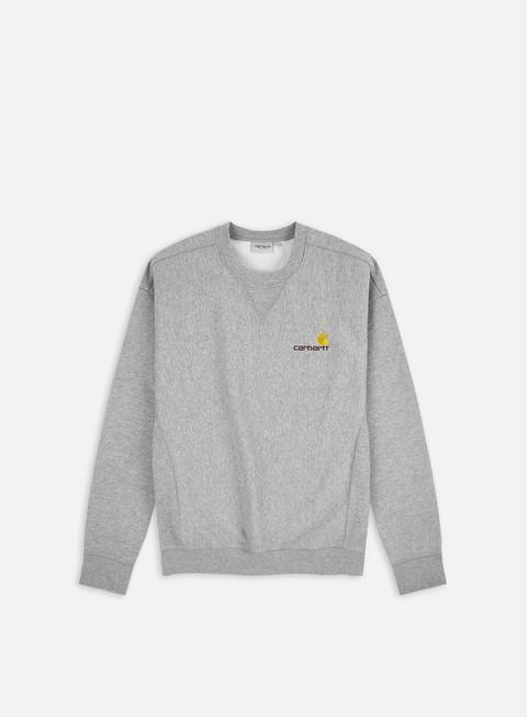 Felpe Girocollo Carhartt WIP American Script Sweatshirt
