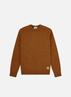 Carhartt WIP - Anglistic Sweater, Brandy Heather