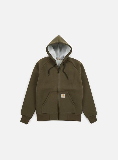 Outlet e Saldi Felpe con Cappuccio Carhartt WIP Car-Lux Hooded Jacket