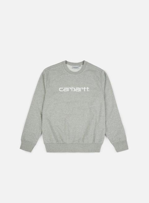 Outlet e Saldi Felpe Girocollo Carhartt WIP Carhartt Sweatshirt,Grey Heather/Wax