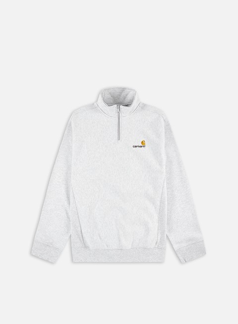 Felpe half zip Carhartt WIP Half Zip American Script Sweatshirt
